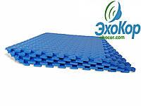 Мягкий пол пазл Lanor (500*500*10мм) Синий