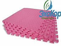Мягкий пол пазл Lanor (500*500*10мм) Розовый