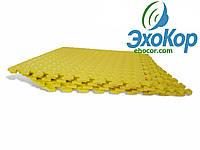 Мягкий пол пазл Lanor (500*500*10мм) Желтый