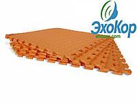 Мягкий пол пазл Lanor (500*500*10мм) Оранжевый