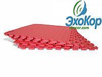 Мягкий пол пазл Lanor (500*500*10мм) Красный