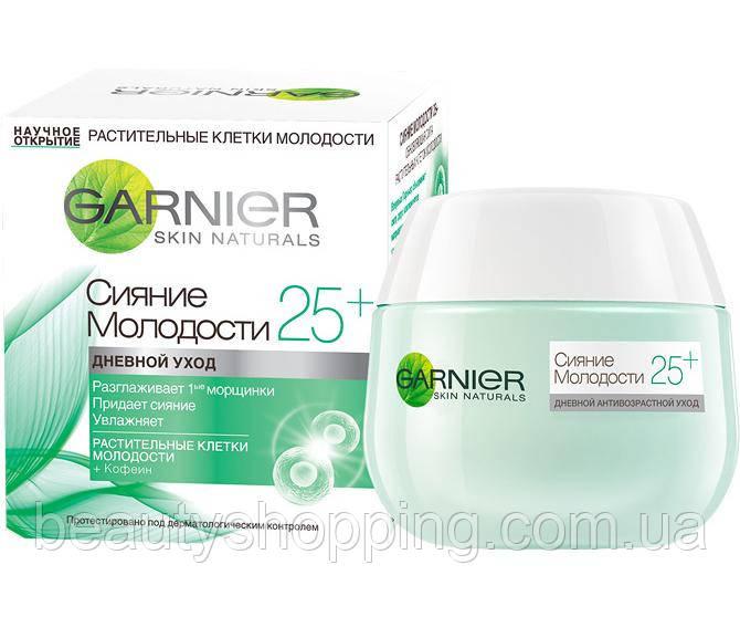 Garnier крем для лица сияние молодости 25+
