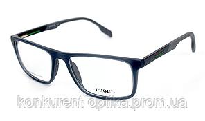Чоловічі окуляри в роговій оправі Proud FA01-02