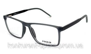 Чоловічі пластикові окуляри в роговій оправі Proud FA05-08
