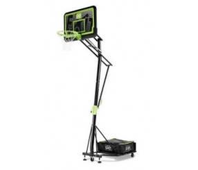 Переносная баскетбольная стойка на колёсиках EXIT Galaxy black со щитом и корзиной