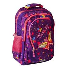 """Шкільний рюкзак для дівчинки  NV-74168 17"""" (5/60) (NAVIGATOR)"""
