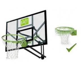 Баскетбольный щитGalaxy Exit настенный регулируемый + кольцо с амортизацией  green/black