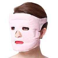 Турмалиновая массажная акупунктурная маска для лица