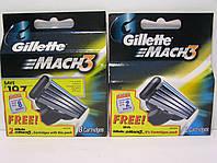 Кассеты Gillette Mach 3 8+2 шт (  Жиллет Мак 3 оригинал 8+2 шт), фото 1