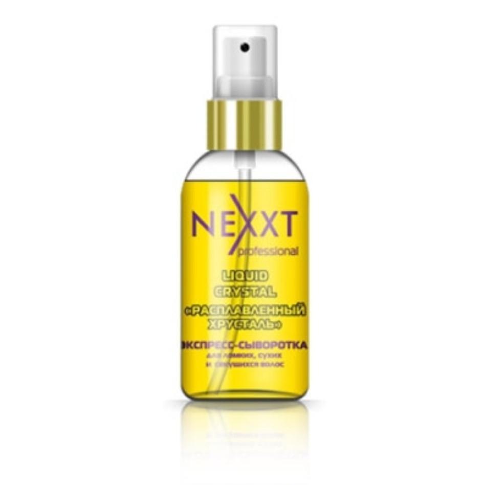 Экспресс-сыворотка Nexxt Расплавленный хрусталь для ломких, сухих, секущихся волос, 50 мл