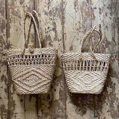 Плетеные сумки и корзины