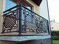 Кованый балкон для тирас