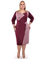 Женское платье Анфиса,размеры 48-62,модель ДК 201, фото 1