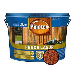 Деревозахист для пиляних дерев'яних поверхонь Pinotex Fence Lasur орегон 10л