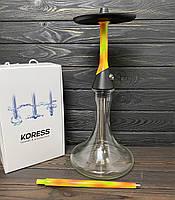 Кальян Koress K2 Cocktail Craft прозрачная