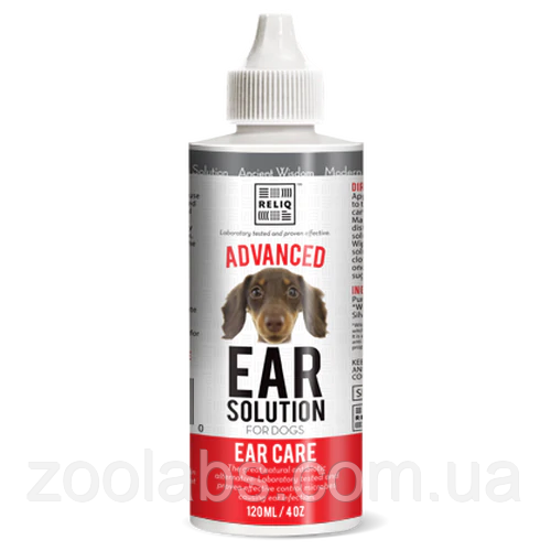 Засіб для догляду за вухами собак Reliq 120 мл