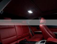 Светодиодная лампа для салона авто белый яркий свет 39 мм C5W из светодиодов 24-SMD COB 24, фото 3