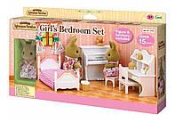 Sylvanian Families 5162 Спальня для девочки с фигуркой кролика-сестры Girl´s Bedroom Set