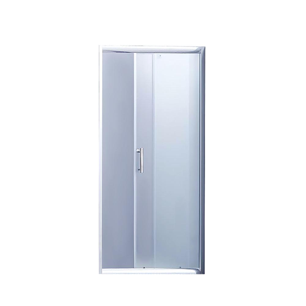 Душові двері в нішу Lidz Zycie SD100x185.CRM.FR, скло Frost 5 мм