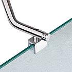 Штора на ванну Lidz Brama SS120x140R.CRM.FR стекло Frost 6 мм, правая, фото 4