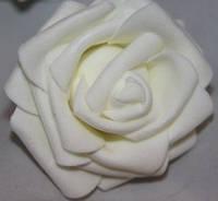 Роза белая  2017-1-17-1 (средняя)