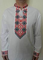Купить мужскую вышиванку из льна. , фото 1