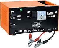 Пуско-зарядное устройство Sturm ВС 2430, 10-20 А (зарядный), 130 А  (пусковой), 12-24 В, 60-300 Ач