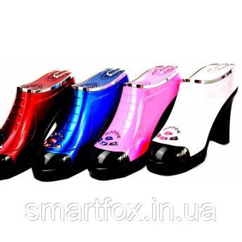 Портативная колонка с USB+SD в виде туфли