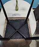Стілець м'який велюровий N-46 капучино (безкоштовна доставка), фото 5
