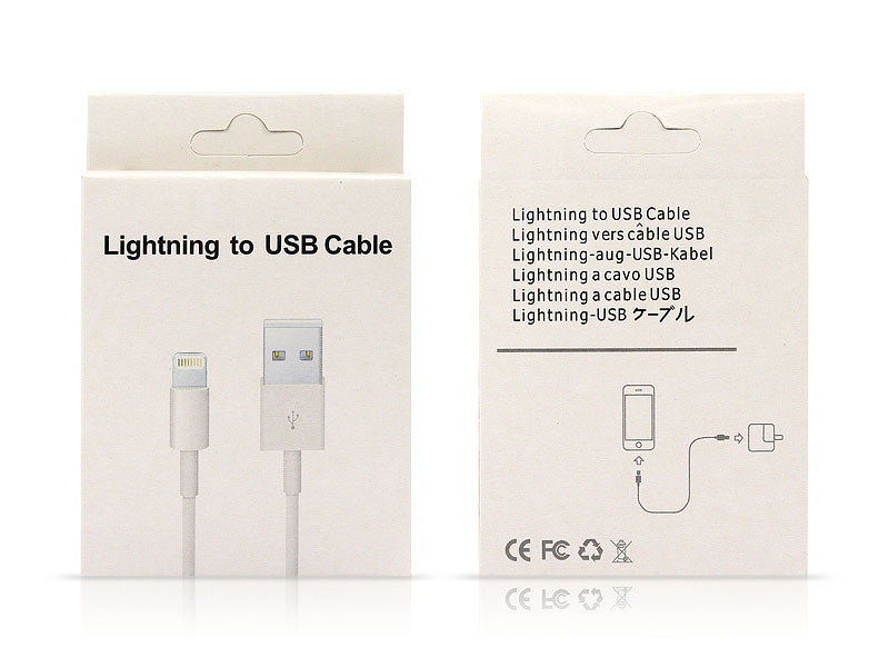 Кабель USB - Lightning i8/i10/i11 C-003 500шт 9737