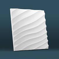 Гипсовые 3d панели Kalmi модель Волна диагональная