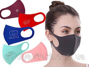 Багаторазова захисна маска - пітта (неопрен), бренд