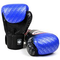 Перчатки боксерские кожа на шнуровке TWINS