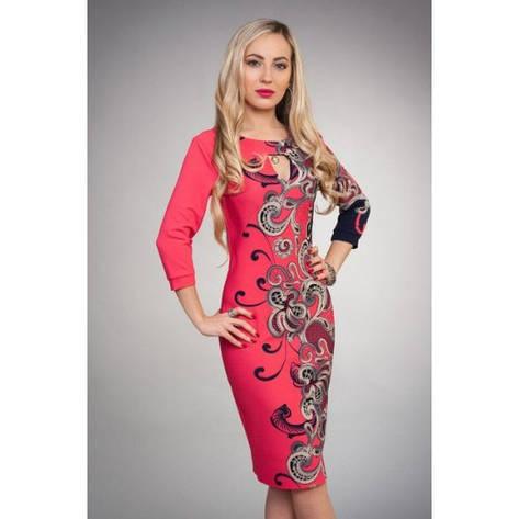 Платье с цветами на боку, фото 2