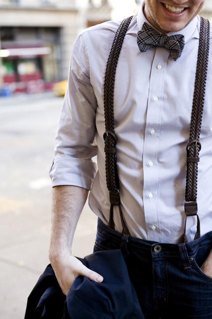 Как сделать подтяжки для брюк своими руками