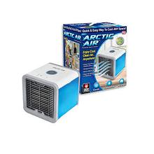 Портативний переносний охолоджувач повітря Arctic Air Cooler міні кондиціонер з LED-підсвічуванням