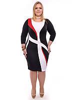 Нарядное женское платье Инна,размеры 48-62,модель ДК 27, фото 1