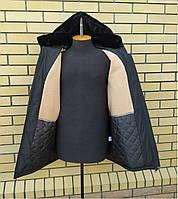 Тёплая зимняя мужская куртка на меху размеры 50-62, фото 1