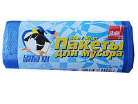 Мусорные пакеты 35л(30шт) Бравый кок