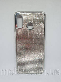 Силіконовий чохол накладка Камені Стрази для Samsung Galaxy A20
