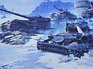 Килимок для миші ігрова поверхня RAIL танки wot Штиль, фото 2