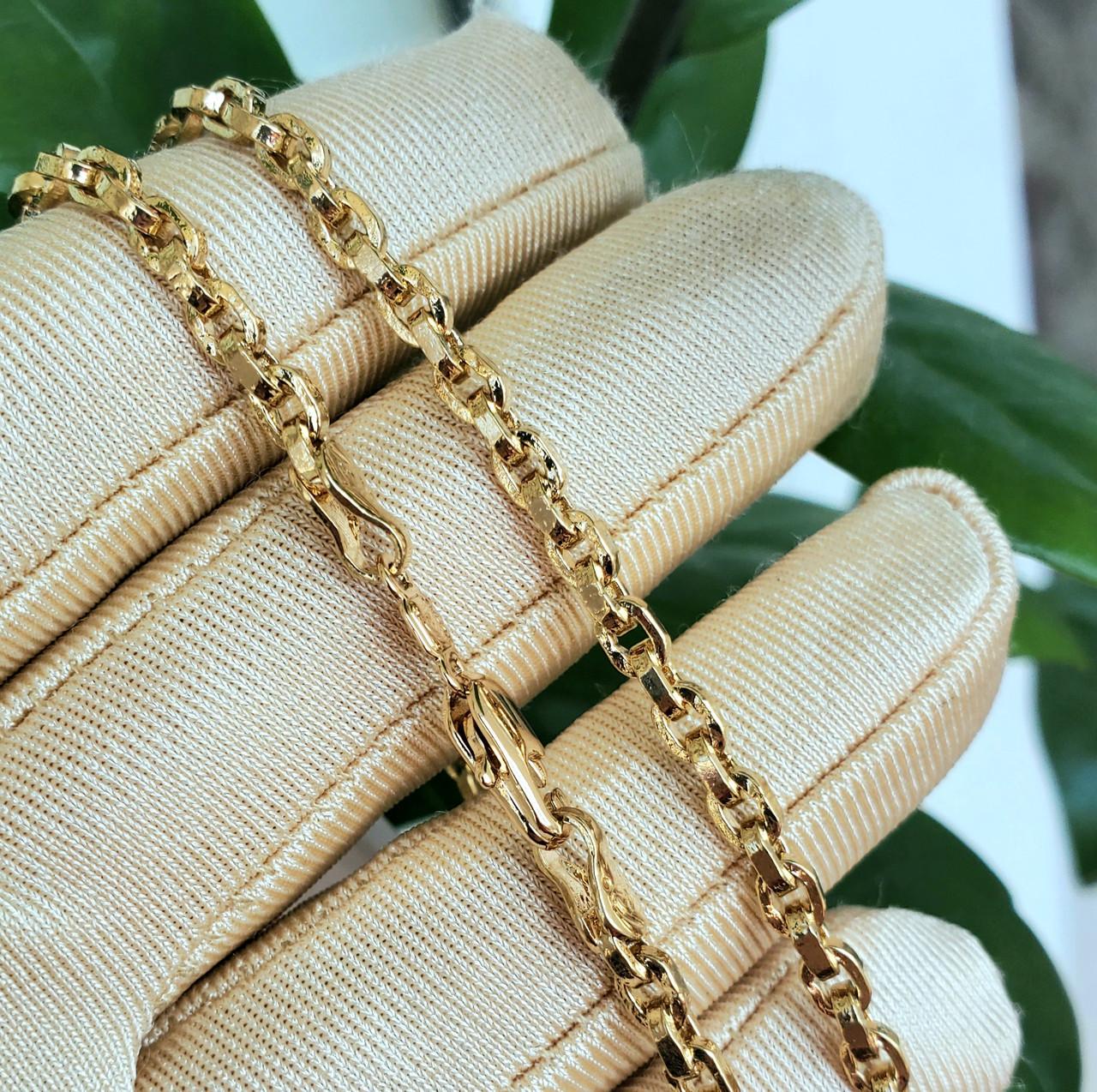 Ланцюжок xuping 3.5 мм 45см якірний плетіння ц674