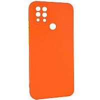 Чехол TPU Square Full Camera для TECNO Pova (LD7) 6 Оранжевый