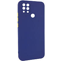 Чехол TPU Square Full Camera для TECNO Pova (LD7) 6 Синий