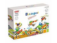 Конструктор Build&Play 5 в 1 Транспорт 164 ел. (J-7741), фото 1