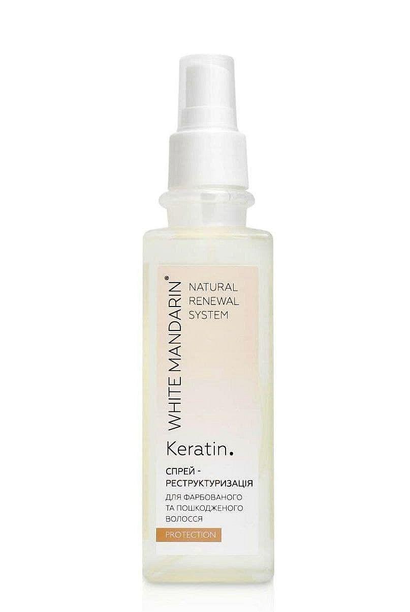 Спрей-реструктуризація White Mandarin Protection для фарбованого та пошкодженого волосся 200мл