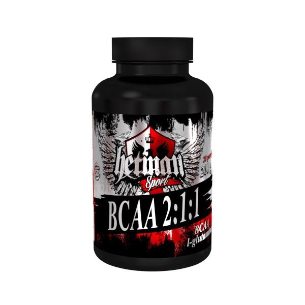 Амінокислоти Hetman Sport BCAA 2:1:1 - 200 г