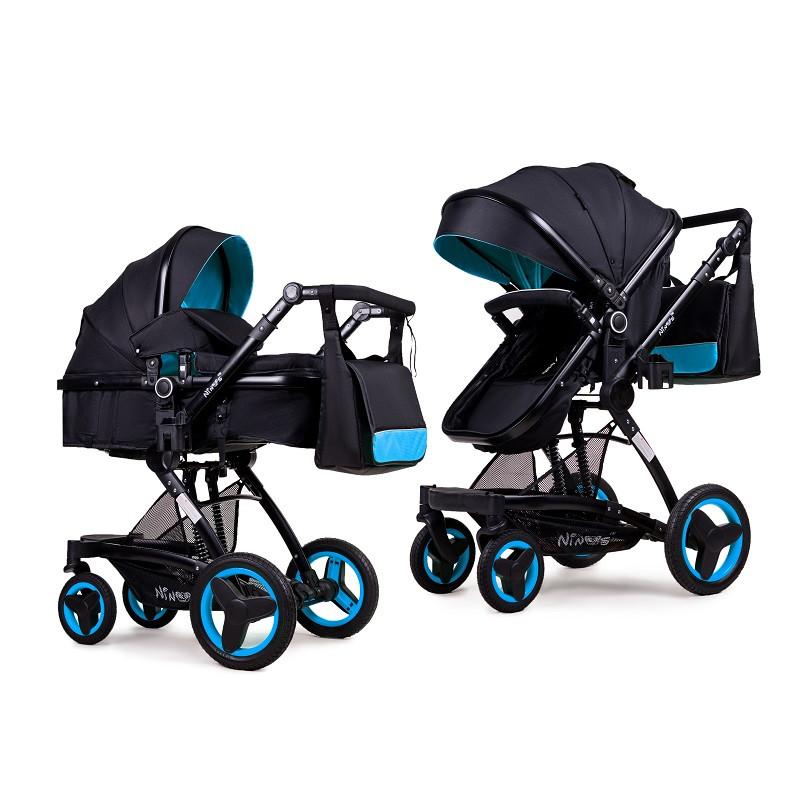 Дитяча коляска трансформер 2в1 Ninos Bono Blue