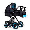 Дитяча коляска трансформер 2в1 Ninos Bono Blue, фото 2