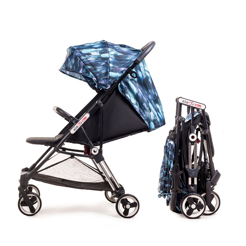 Дитяча прогулянкова коляска Ninos Mini Blue Bird 5.8 кг
